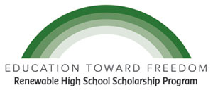 Education Toward Freedom logo